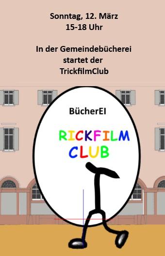 Anküdigung Trickfilmclub