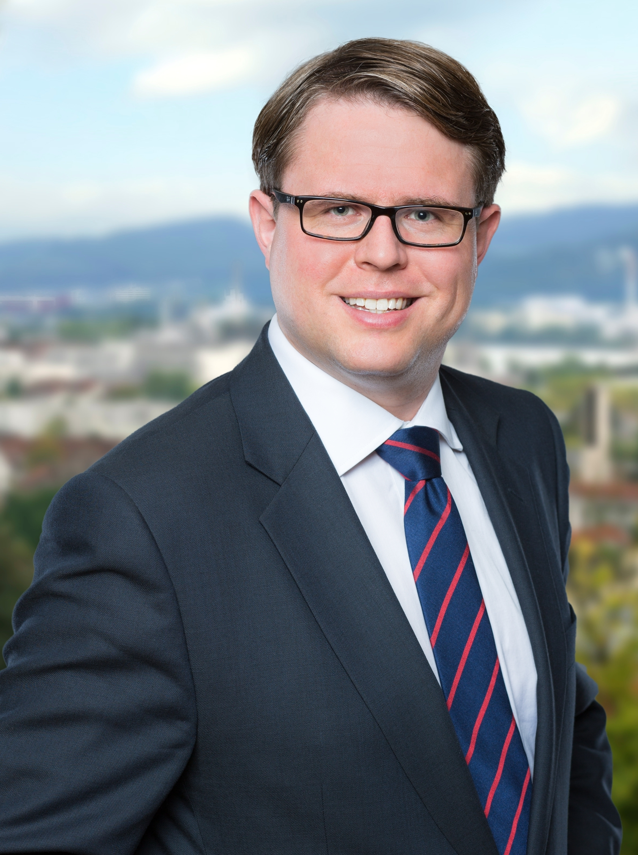 Dr. Tobias Benz Bürgermeister Grenzach-Wyhlen