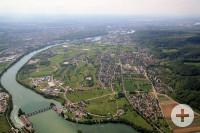 Luftbild von Wyhlen