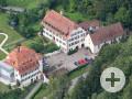 Luftbild der Kapelle Himmelspforte