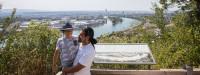 Blick über den Rhein in die Schweiz