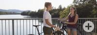 Fahrradtour über die Kraftwerksbrücke von Wyhlen nach Augst