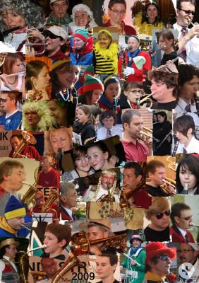 Der Musikverein und seine Aktiven 2009