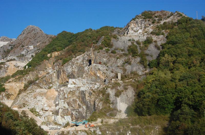 Marmorsteinbrüche von Pietrasanta