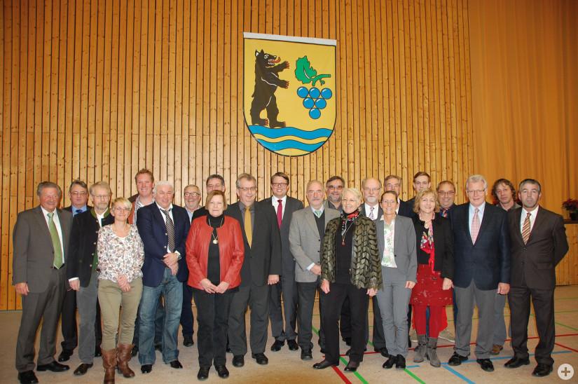 Gemeinderat mit Bürgermeister Benz_Dez_2014