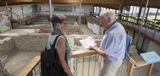 Besuch in der Römervilla in Grenzach Öffnungszeiten von April bis Oktober