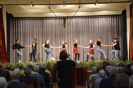 Die Rock'n'Roll Tanzgruppe vom Turnerbund Wyhlen