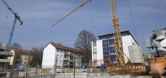 Baustelle in Wyhlen