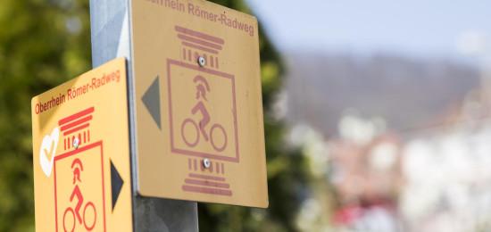 Schild Römerradweg