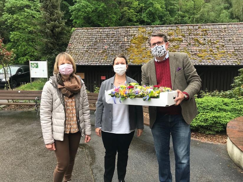 Blumengruß Pflegeheime