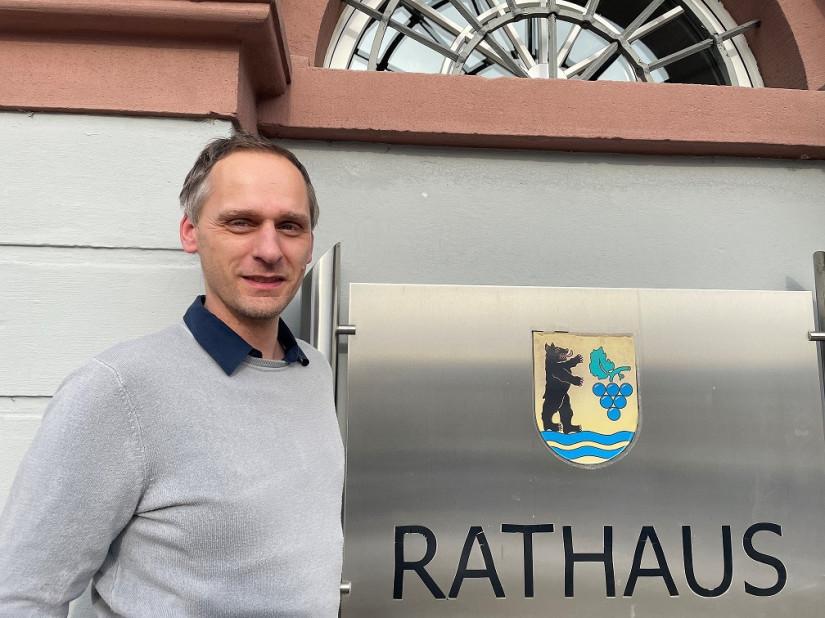 Neuer Hauptamtsleiter Stephan Schmidt