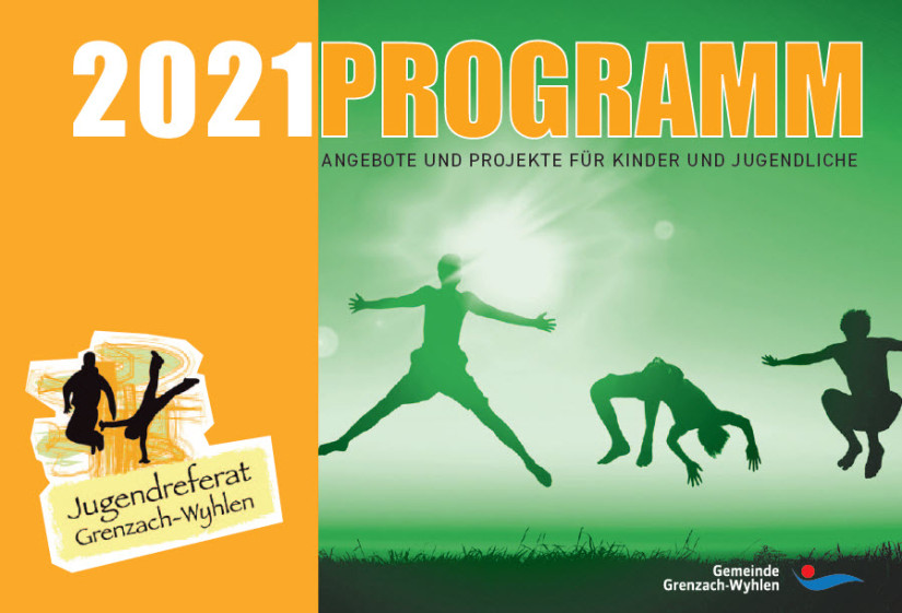 Flyer Programm Jugendreferat 2021