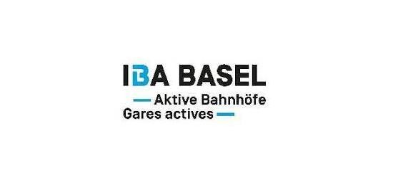 Logo IBA Basel Aktive Bahnhoefe