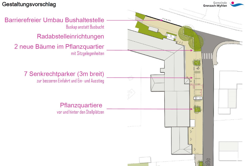 Neugestaltung Eisenbahnstraße 1