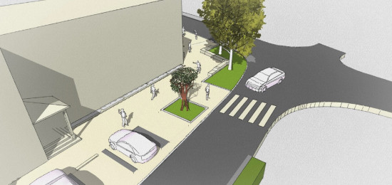 Neugestaltung Eisenbahnstraße 4