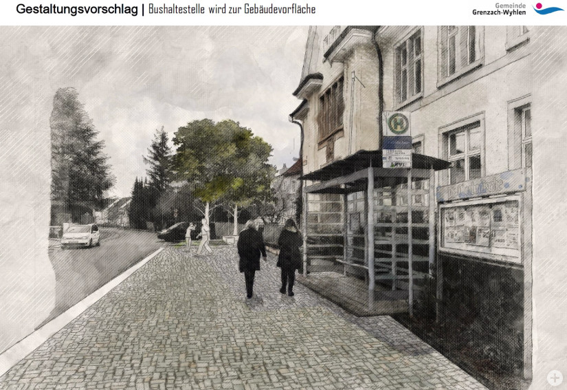 Neugestaltung Eisenbahnstraße 3